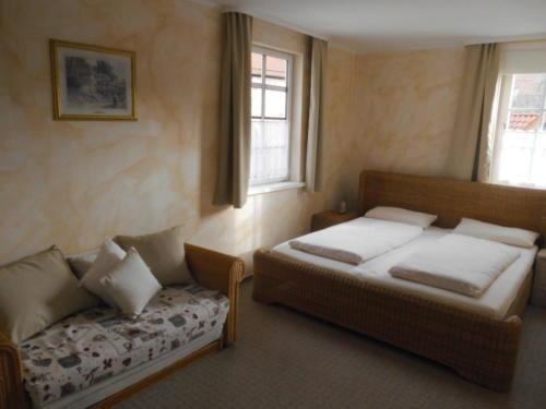 Apartment 2: Schlafzimmer